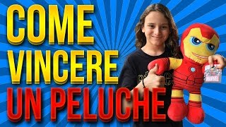 getlinkyoutube.com-TUTORIAL CONSIGLI COME VINCERE PELUCHES ALLE MACCHINETTE IRONMAN CLAW MACHINE - HO VINTO! LUKAS GYM