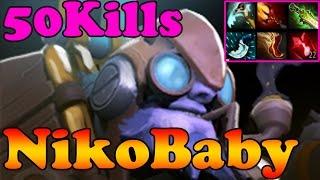 getlinkyoutube.com-Dota 2 - NikoBaby 7000MMR Plays Tinker 50Kills - Pub Match Gameplay