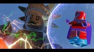 getlinkyoutube.com-LEGO Marvel Super Heroes 100% Walkthrough Part 11 - Taking Liberties (Mastermind Boss Fight)