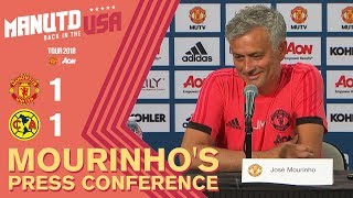 Alexis Sanchez to Join Tour Squad This Week | Mourinho's Press Conference | Man Utd 1-1 Club America