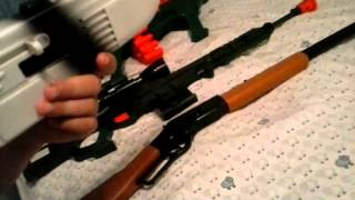 getlinkyoutube.com-Part of our toy gun collection