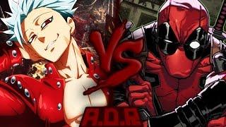 getlinkyoutube.com-Ban VS. Deadpool | ARENA DO RAP