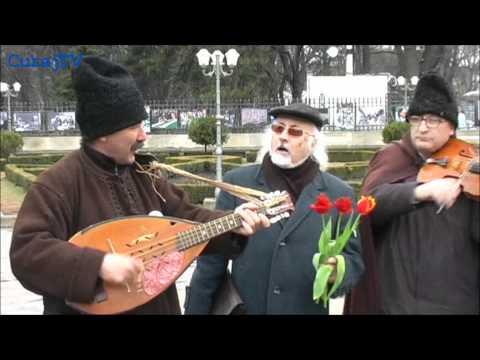 """""""Basarabia trăiască!"""" în fața lui Ștefan"""