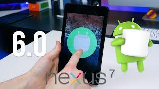Android 6.0 Marshmallow on Nexus 7 (2013)