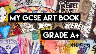 getlinkyoutube.com-My GCSE Year 10 Art Book (Grade A+)