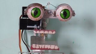 getlinkyoutube.com-How to make your own Animatronics Robot at home