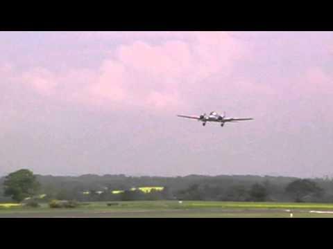 Avro Anson WD 413 Perth Airshow 2010