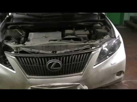 Lexus RX350 замена штатных блоков розжига ксенон