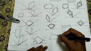 Isometric Projection Basic [Hindi]