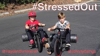 getlinkyoutube.com-twenty one pilots: Stressed Out [OFFICIAL VIDEO COVER] by Hayden Summerall and Johnny Orlando