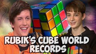 getlinkyoutube.com-Rubik's cube world records 2016 New Edit