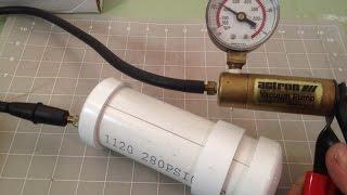 getlinkyoutube.com-Vacuum Chamber | Prototype | How to make
