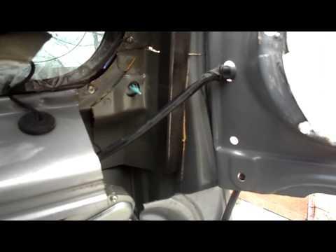 Nissan Patrol усиливаем стойку задней двери