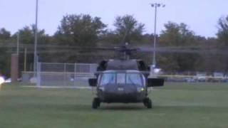 getlinkyoutube.com-UH-60 Black Hawk Homecoming Flyover in Mexico Missouri