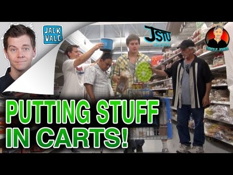 Loading Up Carts Prank!