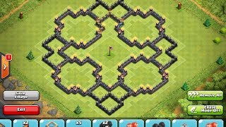 getlinkyoutube.com-Clash of Clans - Top 5 TH10 Bases Ep. #2!
