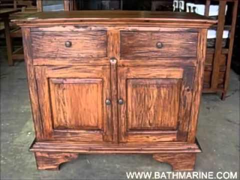 BATHMARINE.COM Muebles Rústicos y Coloniales Interior Madera Maciza: Aparadores, Recibidores...