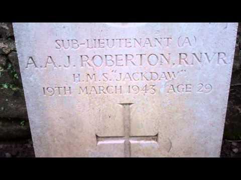 Roberton War Grave Murie Cemetery Errol Perthshire Scotland