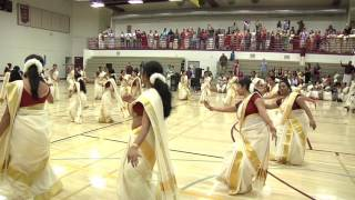 getlinkyoutube.com-MEGA Thiruvathira - KHA ONAM PONNONAM 2016 CELEBRATION