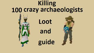getlinkyoutube.com-Guide and loot from 100 Crazy Archaeologist