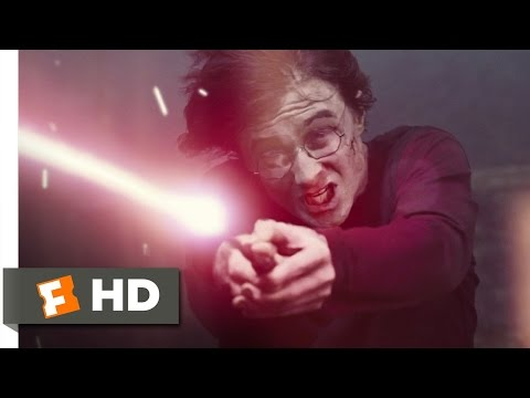 Harry Battles Voldemort Scene - Harry Potter and the Goblet of Fire Movie (2005) - HD