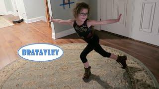 getlinkyoutube.com-Hayley Learns Her Beam Routine (WK 255.2) | Bratayley