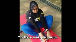 getlinkyoutube.com-7 WEEKS FREELETICS TRANSFORMATION NADIAH