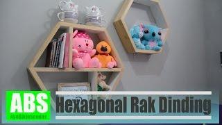 getlinkyoutube.com-Hexagonal Rak Dinding  - Hobikayu Kontes