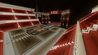 getlinkyoutube.com-Minecraft WWE Raw Arena Speed-Build