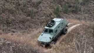 getlinkyoutube.com-Chinese Wolf 4x4 light armoured vehicle personnel carrier Shaanxi Baoji Special Vehicles China