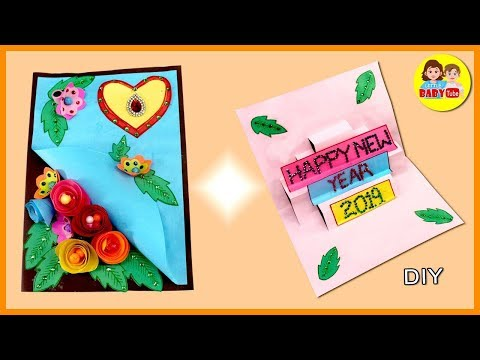 Download Thumbnail For New Year Greeting Card Making Happy New
