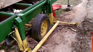 getlinkyoutube.com-SAWMILL homemade 13HP engine-log lift