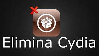 getlinkyoutube.com-Como eliminar cydia de mi iphone