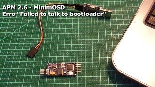 "getlinkyoutube.com-APM 2.6 - Erro ""Failed to talk to bootloader"""
