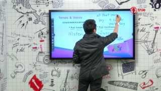 สอนศาสตร์ : ม.ปลาย : ภาษาอังกฤษ : Tenses & Voices : 11