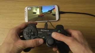getlinkyoutube.com-How To Pair PlayStation 3 Controller To Samsung Galaxy S4