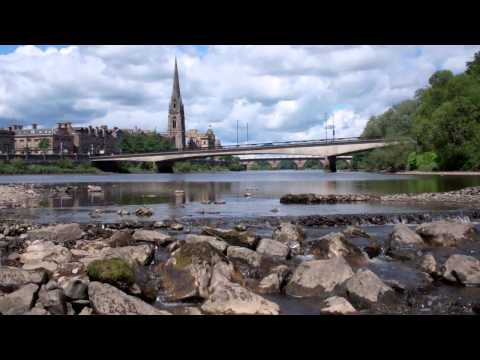 River Tay From Moncrieffe Island Perth Perthshire Scotland June 18th