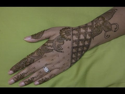 Arabic Bridal Henna Design : Best Mehndi Designs 2014