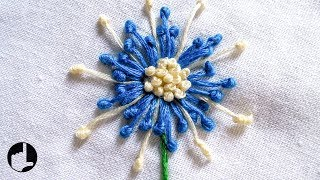 getlinkyoutube.com-Embroidery Stitches by Hand   New Patterns   HandiWorks #20