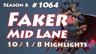 getlinkyoutube.com-SKT T1 Faker - Twisted Fate vs Ryze - NA LOL SoloQ Highlights