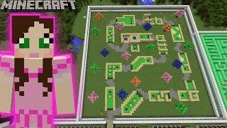 getlinkyoutube.com-Minecraft: MINIATURE GOLFING GAME - MINE PARK - Custom Map [1]