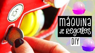 getlinkyoutube.com-¡Haz una MAQUINA de REGALOS SORPRESA! para San Valentín / Cumpleaños + SORTEO 4 ✄ Craftingeek