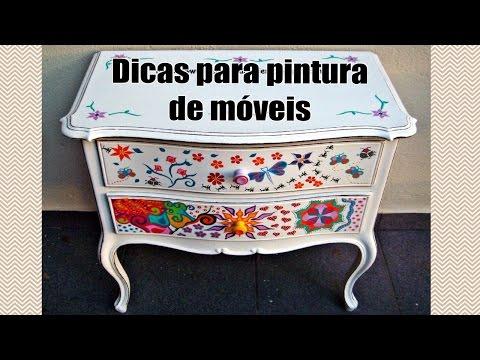 Dicas para pintura de móveis e de madeira