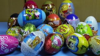 getlinkyoutube.com-NEW Different Surprise Eggs for girls and boys