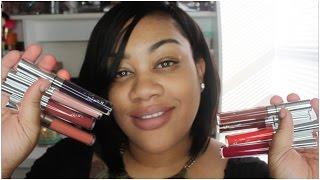 getlinkyoutube.com-Colour Pop Ultra Matte Lip swatches+5 New Fall Shades