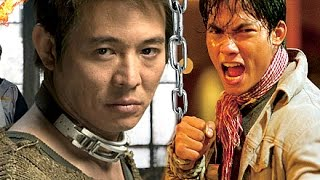 Tony Jaa VS Jet Li! | Grand-Masters In Training ☯Muay Thai Boxing Versus Wushu Martial Arts Fight.ᴴᴰ