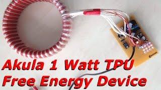 getlinkyoutube.com-Free Energy Device - 1 Watt Akula TPU Dismantling - no hidden batteries