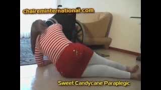 PARAPLEGIC WHEELCHAIR Luna sweet candycane paraplegic