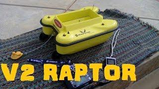 getlinkyoutube.com-V2 Raptor - Homemade bait boat