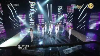 getlinkyoutube.com-HD SNSD - Run Devil Run , Goodbye 2/2 Apr30.2010 GIRLS' GENERATION Live 720p (Debut - 1000th Day)